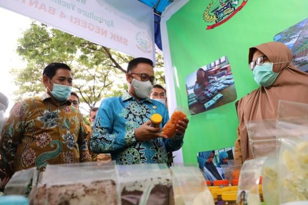 SMKS Darul Ulum Panaikang Pelopori Pameran Program YESS di Bantaeng
